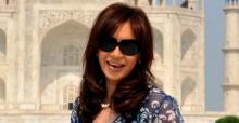 Cristina Fernandez Taj Mahal