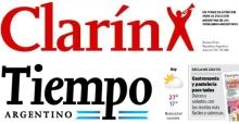 Clarin y Tiempo Argentino