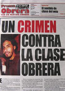 Presa Obrera Mariano Ferreyra